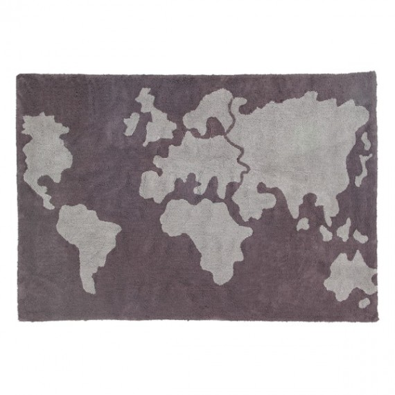 Lorena Canals Dywan World Map 140x200cm