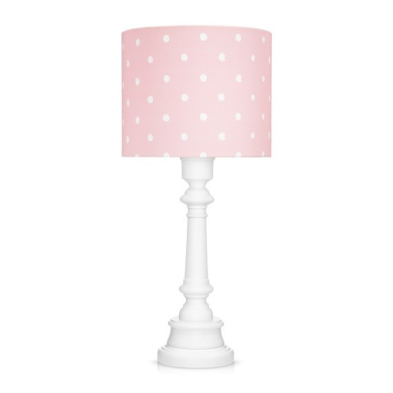 Lamps&Co. Lampka nocna w kropeczki - Lovely Dots Pink