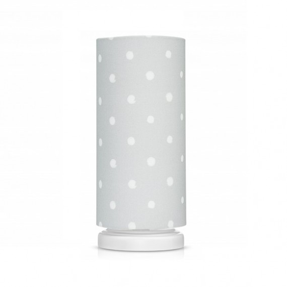 Lamps&Co. Lampka nocna - Lovely Dots Grey