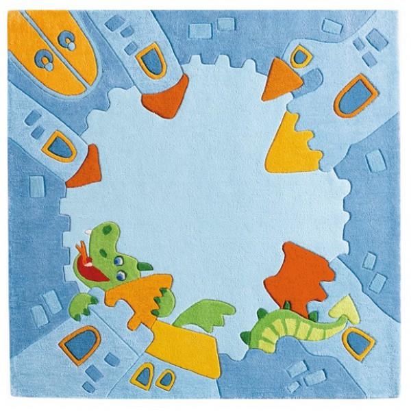 Dywan Dziecięcy Dla Chłopców Zamek Rycerski Haba 120x120