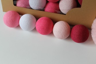 Cottonove Love  Cotton Balls Sweet Pink  10 kul