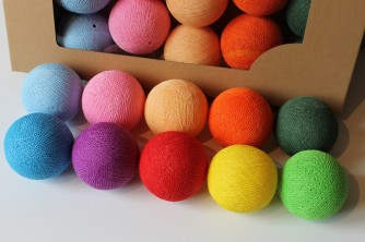 Cottonove Love  Cotton Balls Multicolor  10 kul