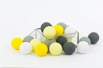 Cottonove Love  Cotton Balls Smoky Yellow  20 kul